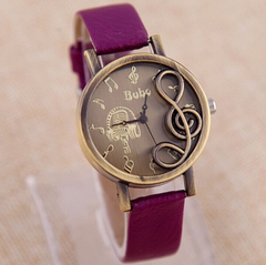 """The Singer"" Music Note Watch * Just Release *"