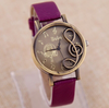 "Image of ""The Singer"" Music Note Watch * Just Release *"