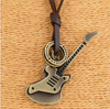 Image of Guitarist Leather Necklace