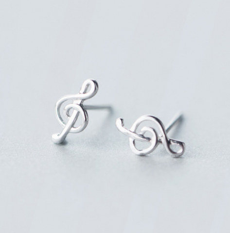 .925 sterling silver treble