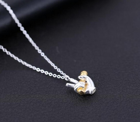 925 Silver Singers Necklace