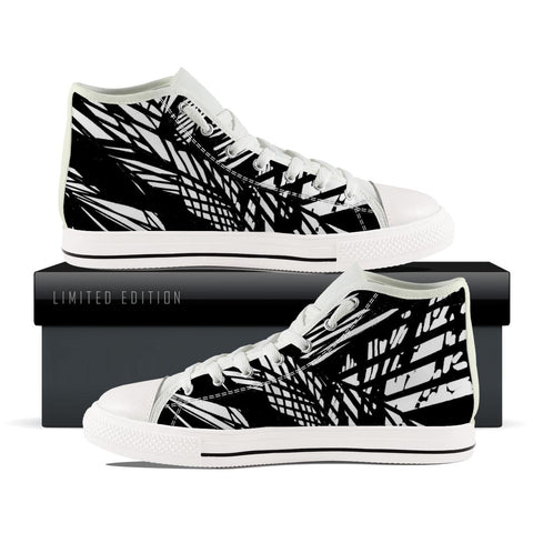 Abstract pattern High Top Shoes