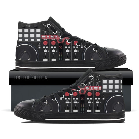 DJ Controller High Top Shoes