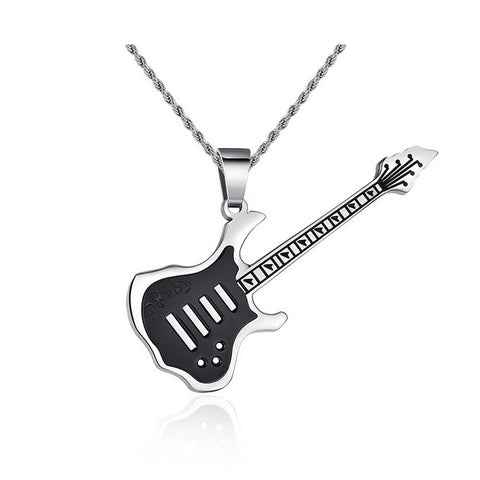 """Guitarist Solo"" 316L StainLess Steel Necklace"