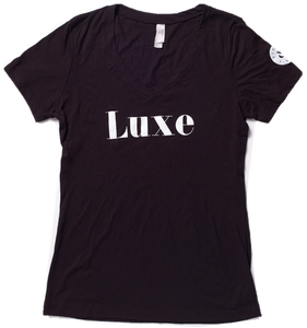 V-NECK BLACK - Women