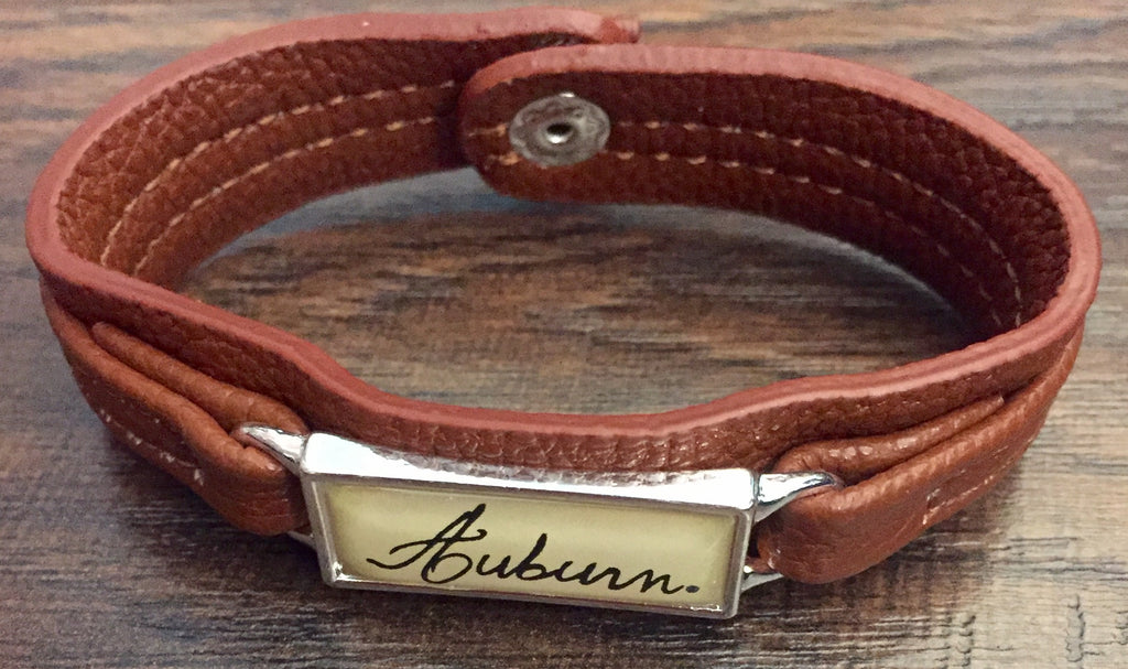 Auburn Leather Bracelet