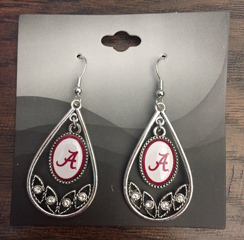 Alabama Teardrop Earrings
