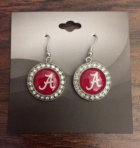 Alabama Rhinestone Earrings