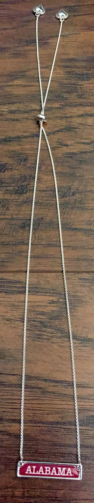 Alabama Bar Necklace