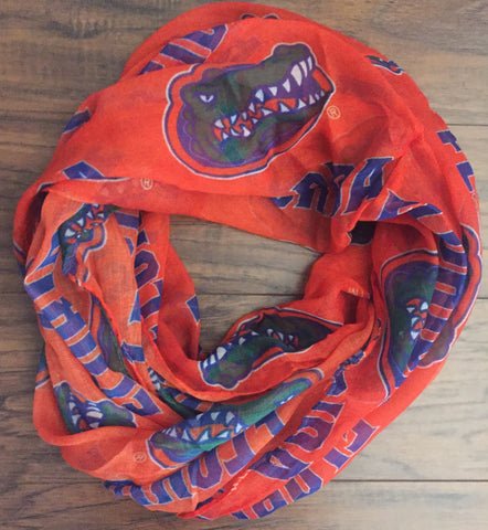 Orange Gators Scarf