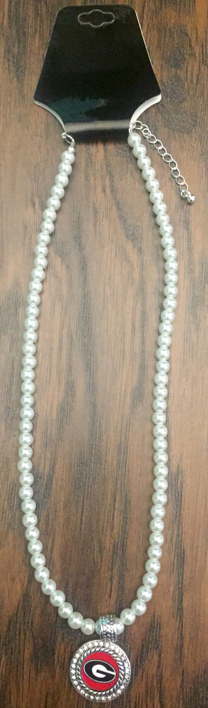 UGA Pearl Necklace