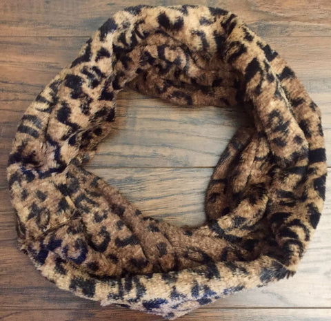 Assorted Infinity Fur Scarfs