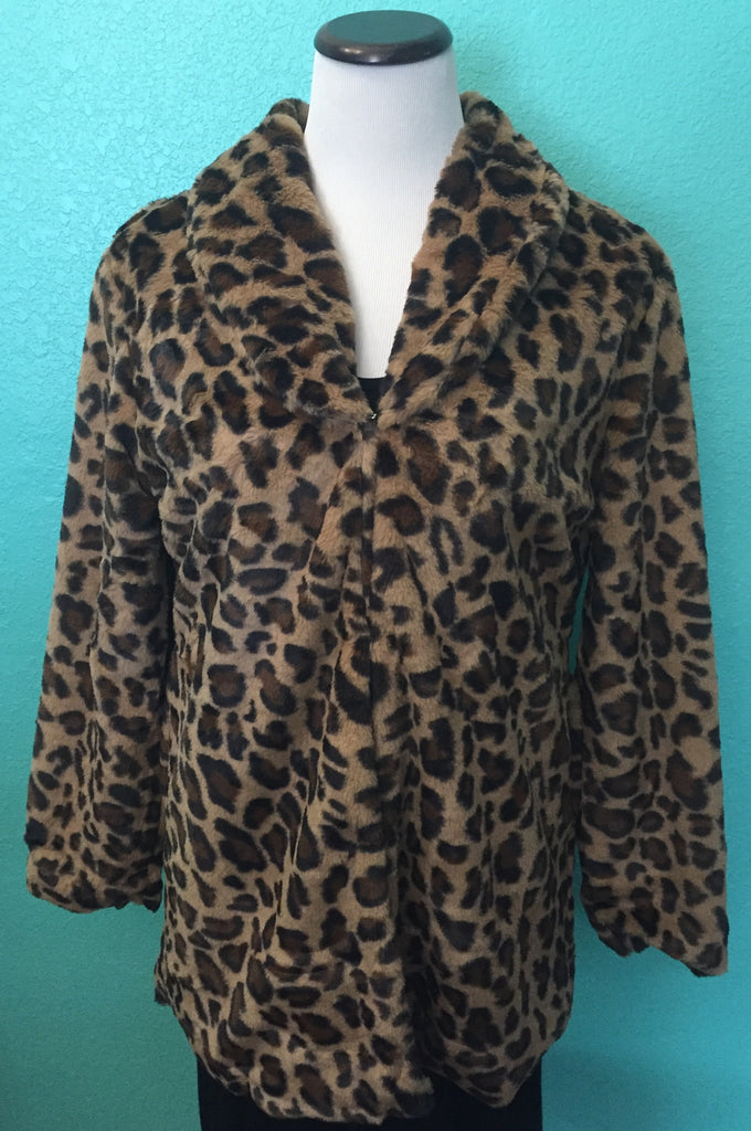 Leopard Fur Jacket