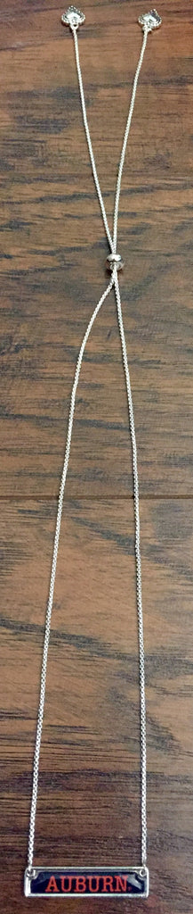 Auburn Bar Necklace