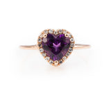 Bisou Amethyst Ring