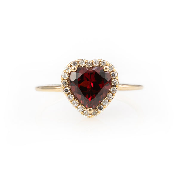 Bisou Ruby Ring
