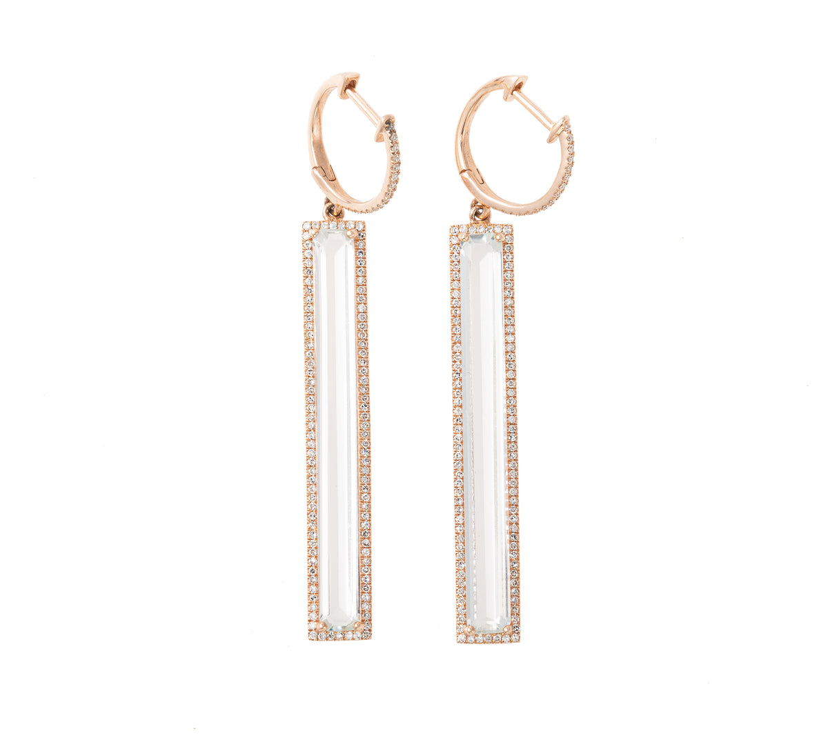 Margeaux Topaz Drop Earrings