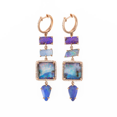 Oriah Boulder Opal Drop Earrings