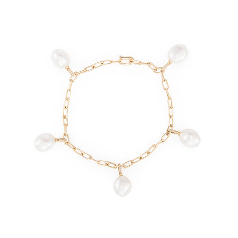 Pearl Dangle Bracelet