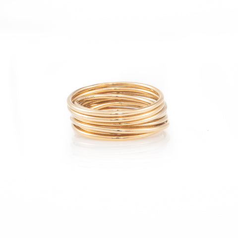Thin Plated Wire Ring