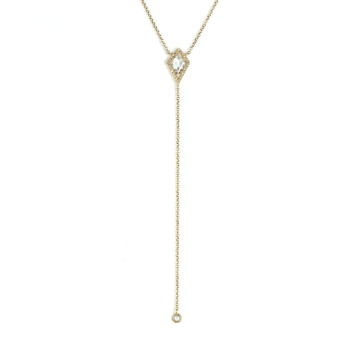 Artemis Lariat Necklace-Lariat-Zofia Day Co.