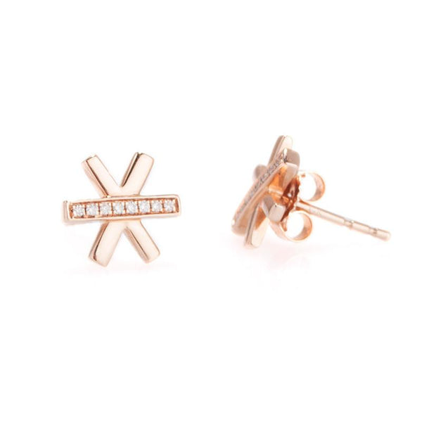 Asterisk Studs-Earrings-Zofia Day Co.
