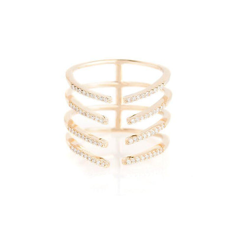Cage Ring-Rings-Zofia Day Co.