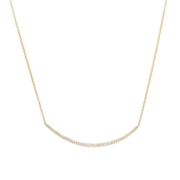 Crescent Necklace-Necklaces-Zofia Day Co.