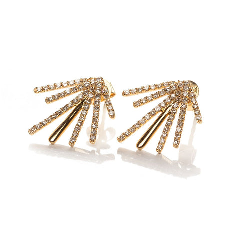 Deco Burst Earrings-Earrings-Zofia Day Co.