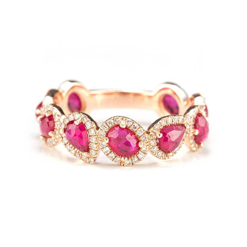 Dynasty Ruby Ring-Rings-Zofia Day Co.
