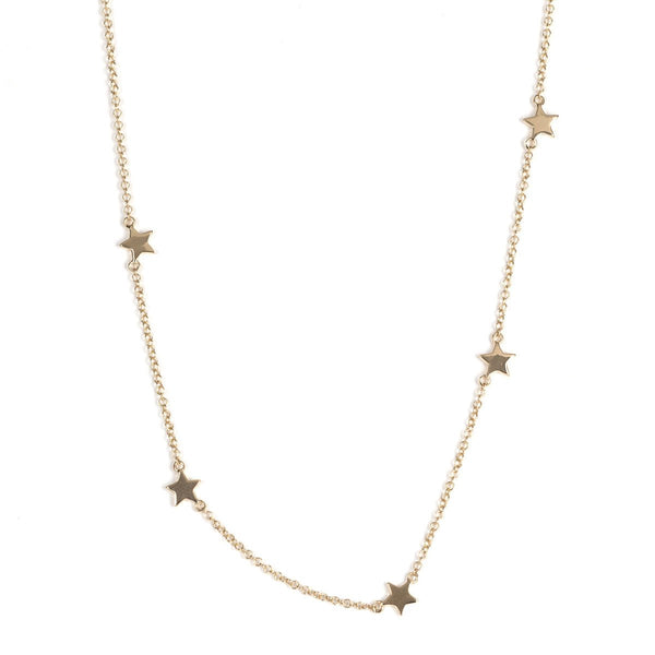 Falling Star Necklace-Necklaces-Zofia Day Co.