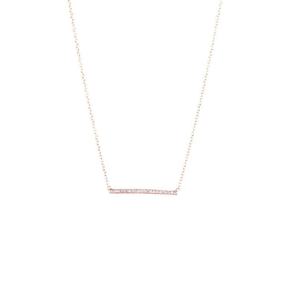Paros Bar Necklace-Necklaces-Zofia Day Co.