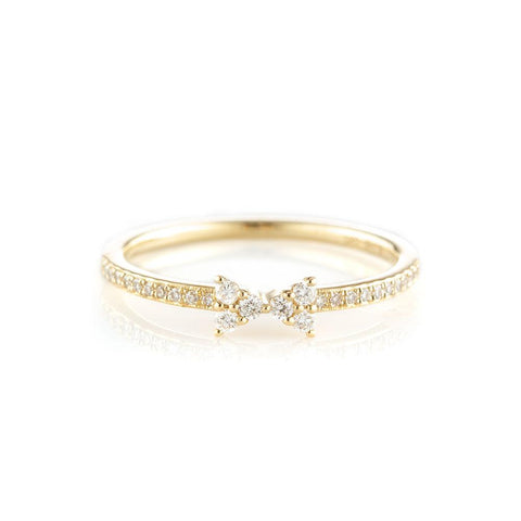 Petite Bow Ring-Rings-Zofia Day Co.