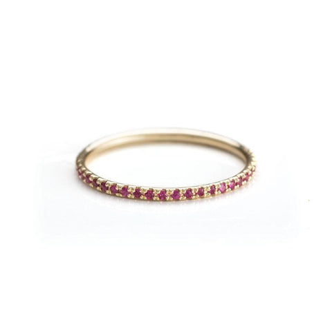 Ruby Stack Ring-Rings-Zofia Day Co.