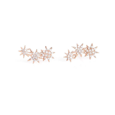 Starburst Crawlers-Earrings-Zofia Day Co.