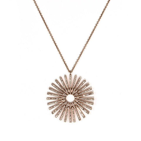 Sundial Necklace-Necklaces-Zofia Day Co.