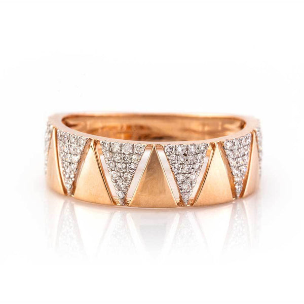 Triangle Eternity Band-Rings-Zofia Day Co.