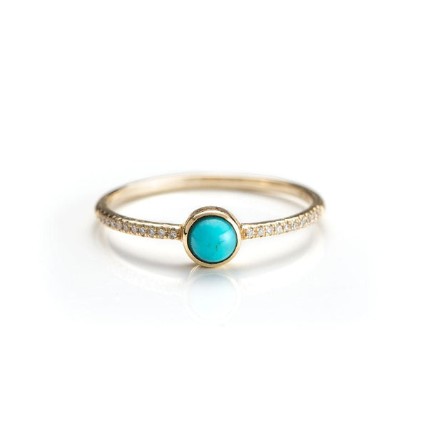 Turquoise Island Ring-Rings-Zofia Day Co.
