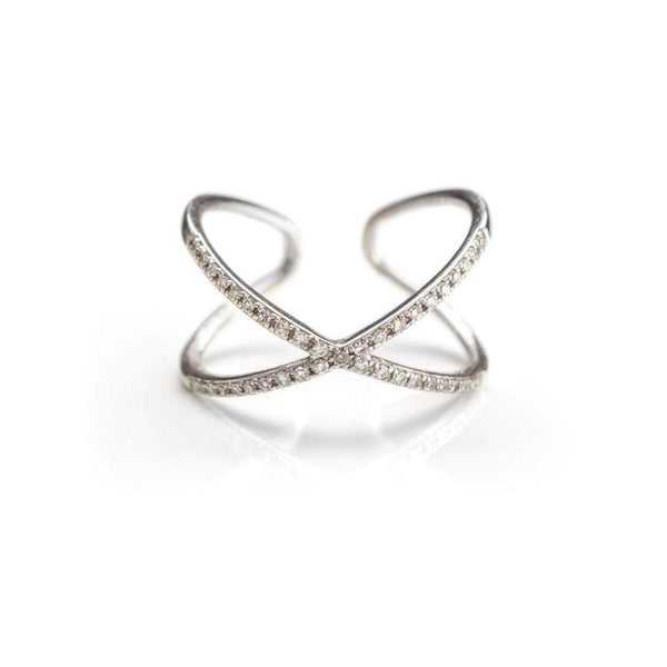 X Midi Ring-Rings-Zofia Day Co.