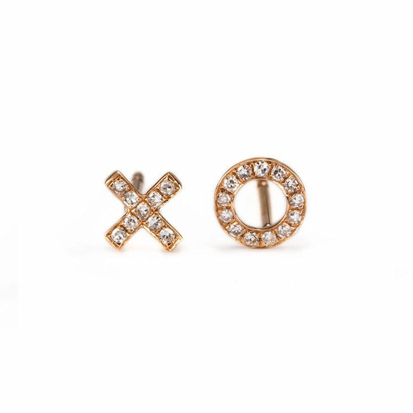 XO Studs-Earrings-Zofia Day Co.