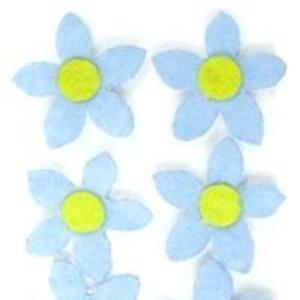 Image of Blue Flower Extra Mighty Magnets - 6 Mighty Magnets per package