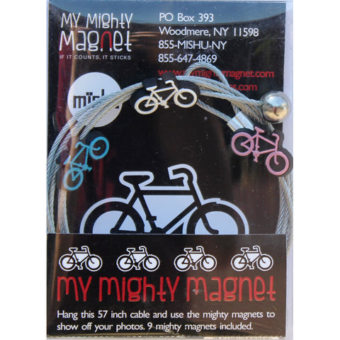 Image of Bicycles - My Mighty Magnet System - The simple and creative way to display pictures, cards or whatever matters to you using super strong Mighty Magnets.