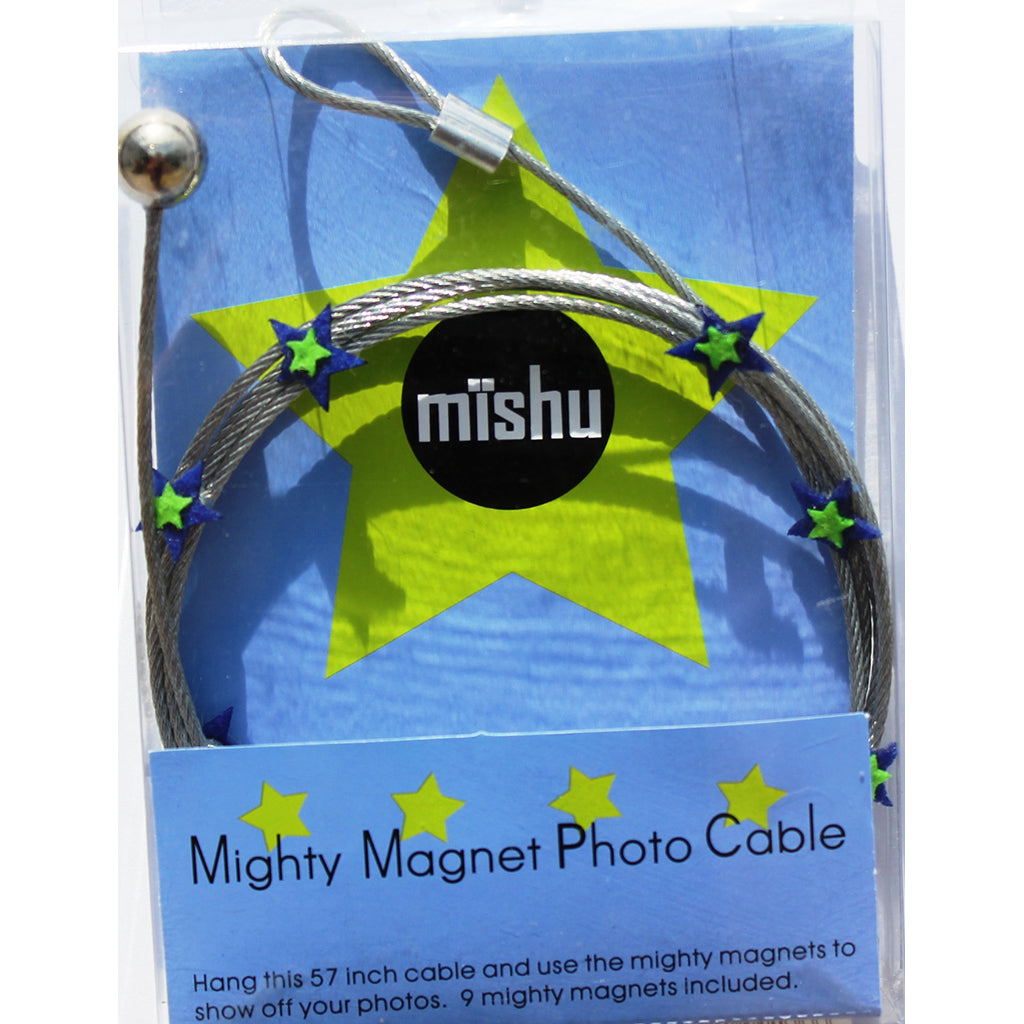 Blue Star My Mighty Magnet System - The simple and creative way to display pictures, cards or whatever matters to you using super strong Mighty Magnets.