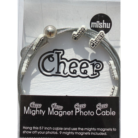 Image of Cheer My Mighty Magnet System - The simple and creative way to display pictures, cards or whatever matters to you using super strong Mighty Magnets.