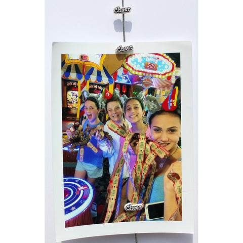 Cheer My Mighty Magnet System - The simple and creative way to display pictures, cards or whatever matters to you using super strong Mighty Magnets.