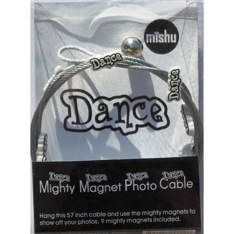 Dance My Mighty Magnet System - The simple and creative way to display pictures, cards or whatever matters to you using super strong Mighty Magnets.
