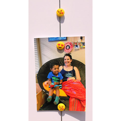 Image of Emoji - 2 Style Kissie Mix -  My Mighty Magnet System - The simple and creative way to display pictures, cards or whatever matters to you using super strong Mighty Magnets.