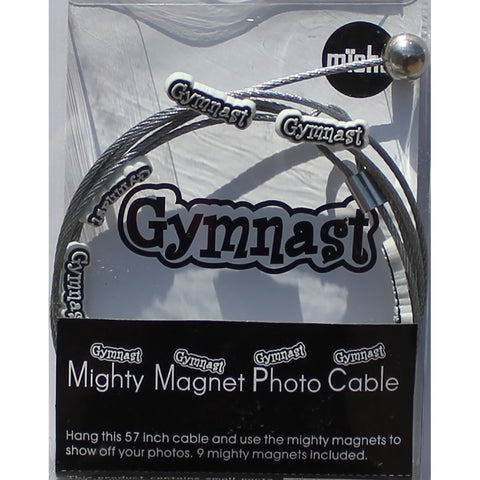 Gymnast - The simple and creative way to display pictures, cards or whatever matters to you using super strong Mighty Magnets.