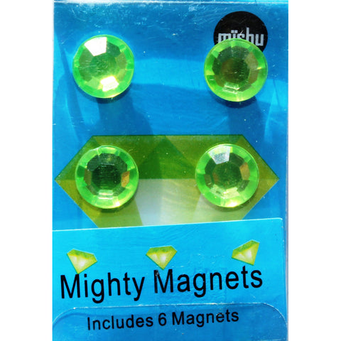 884M -Light Green Gem 6 Pack