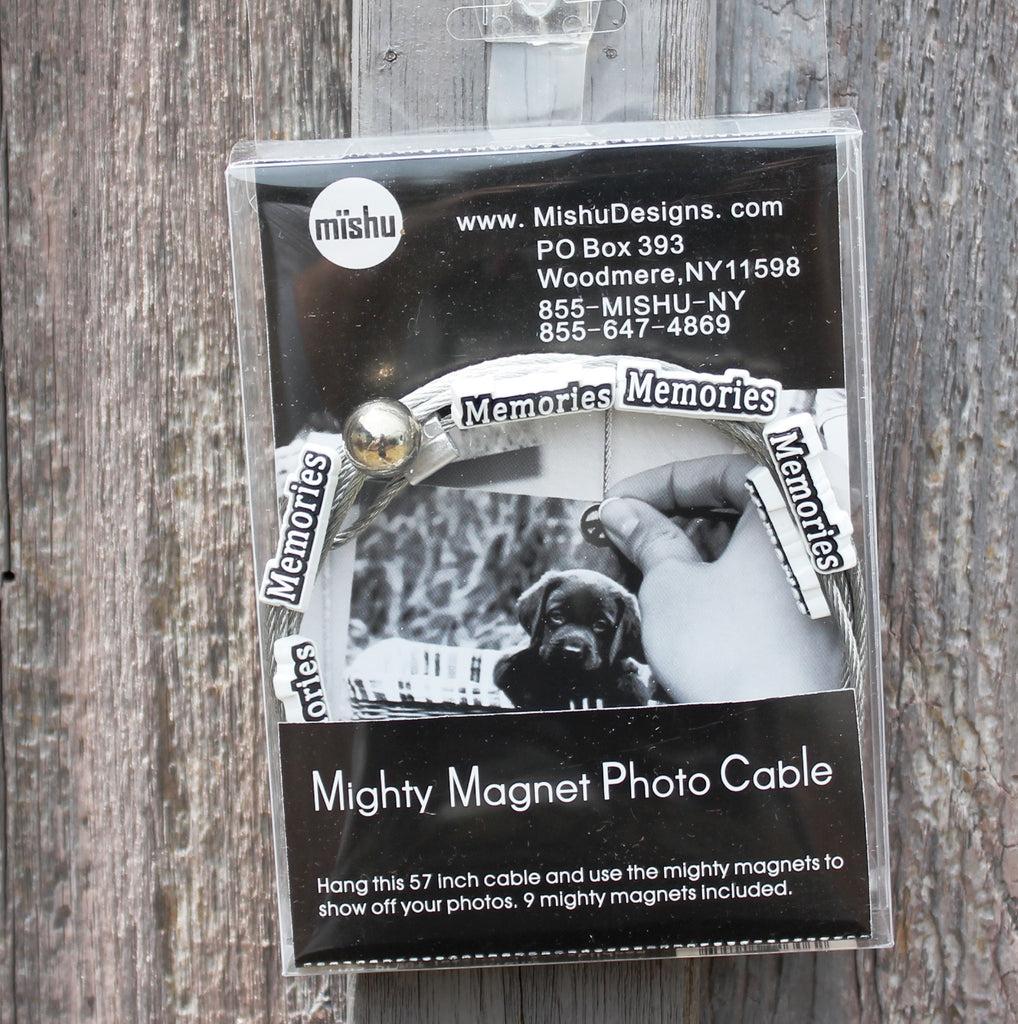 MEMORIES  My Mighty Magnet System - The simple and creative way to display pictures, cards or whatever matters to you using super strong Mighty Magnets.